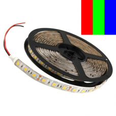 Светодиодная лента 5050 60шт/м 12В IP65 RGB Многоцветная