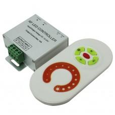 Диммер для светодиодной ленты 12А с сенсорным пультом (радио)