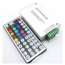 Контроллер для RGB ленты 18А с пультом 44 кнопки (радио)