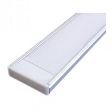 Накладной алюминиевый профиль 20х6 мм