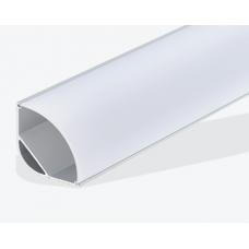 Угловой алюминиевый профиль 30х30 мм