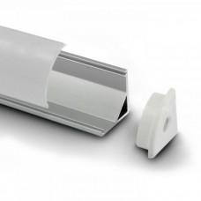 Угловой алюминиевый профиль 16х16 мм
